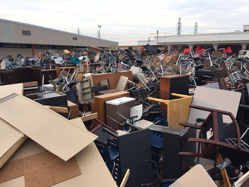 Harvey Damages at Pasadena ISD